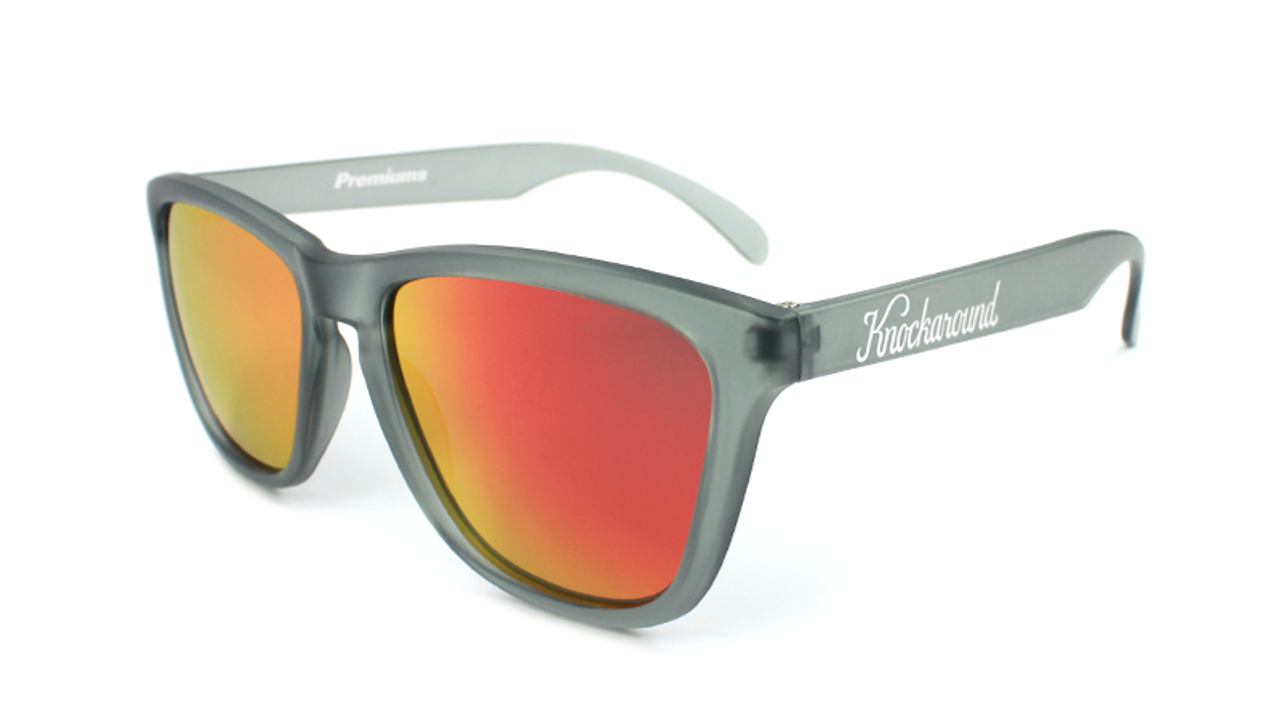 63619e71de KNOCKAROUND FROSTED GREY   RED SUNSET CLASSICS - POLARIZED