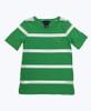 Green & White Striped Tee Shirt