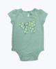 Pastel Green Bodysuit, Baby Girls
