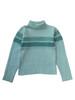 Mint Fuzzy Turtleneck Sweater