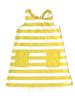Striped Knot Back Pocket Sundress, Little Girls