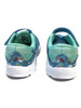 Aqua Sky Blue Confetti Sneakers, Little Girls