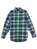 Multi-Color Plaid Button-Down Shirt, Big Boys