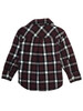 Maroon Plaid Shirt, Toddler Boys