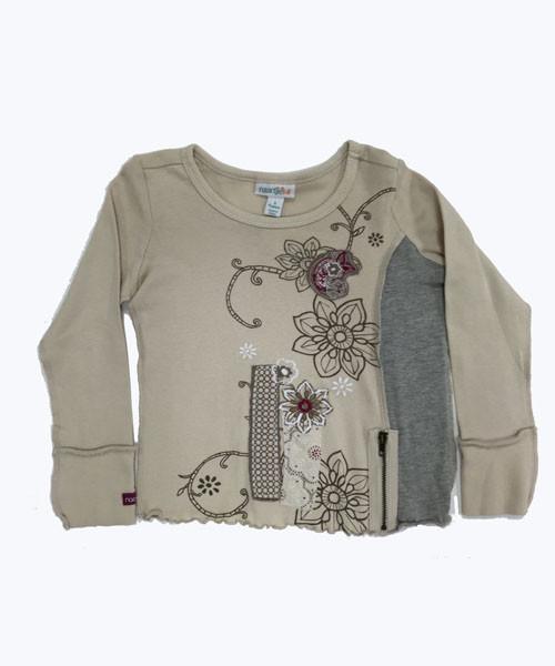 SOLD -  LS Zipper Shirt