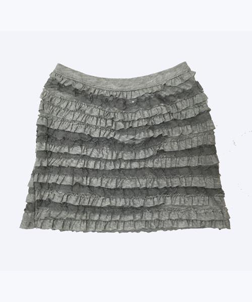 SOLD - Lace Ruffle Skirt
