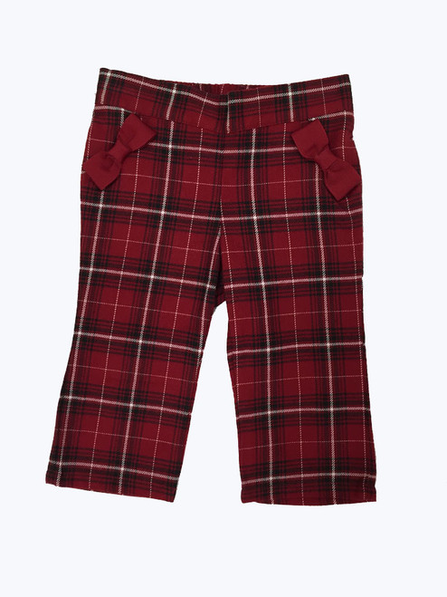 SOLD - Red Pants w/ Bows