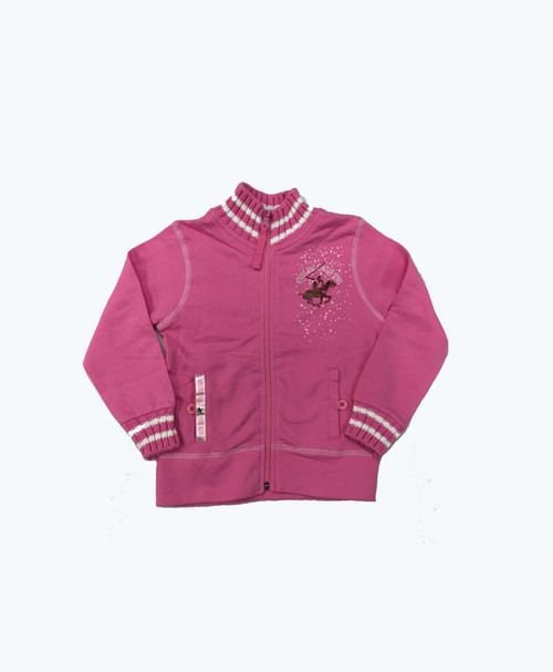 SOLD - Pink Zip-Up Light Jacket