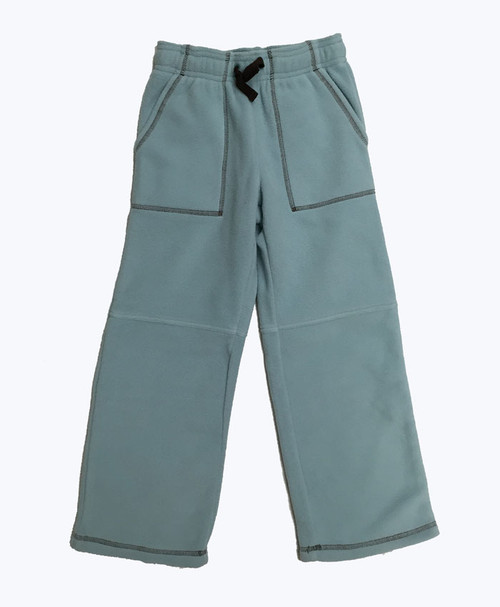 Blue Fleece Pants, Little Boys
