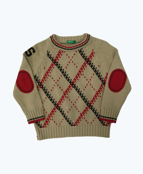 Elbow-Patch Sweater, Toddler Boys