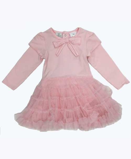 Pastel Pink Tutu Dress, Baby Girls