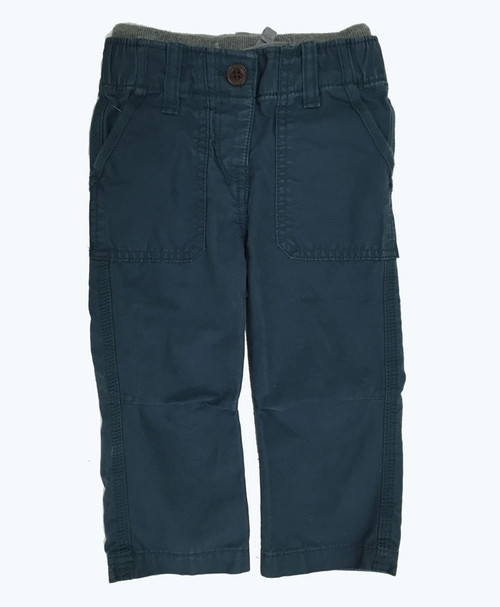 Pull-On Navy Pants, Baby Boys