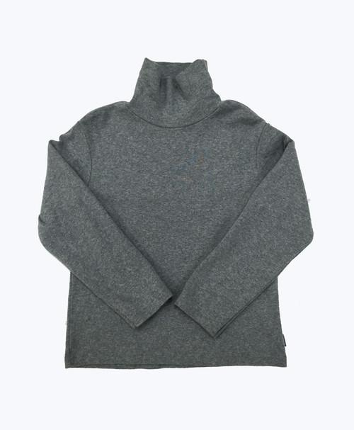 Gray Turtleneck Shirt