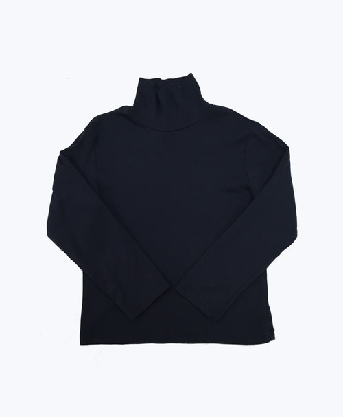 Navy Turtleneck Shirt, Little Boys