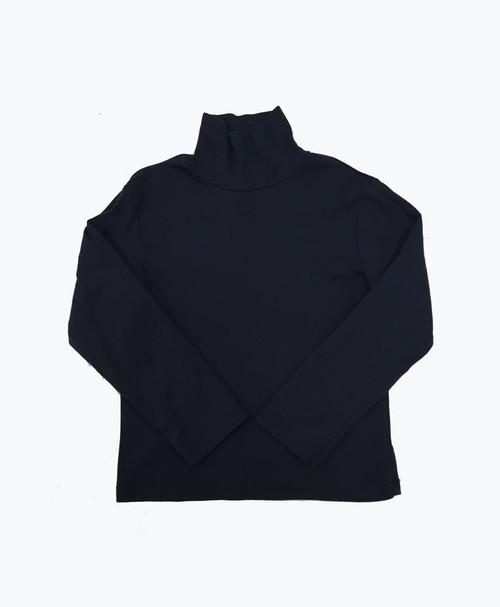 Navy Turtleneck Shirt