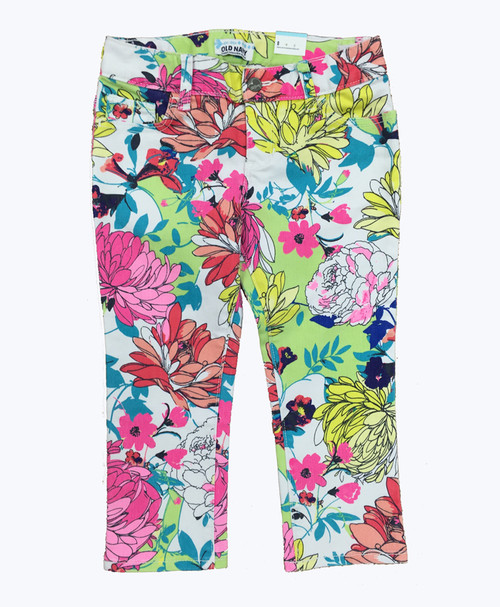 Floral Capris, Little Girls