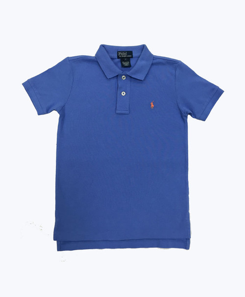 SOLD - Powder Blue Pique Polo