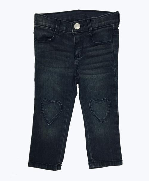 Heart Patch Denim Jeans