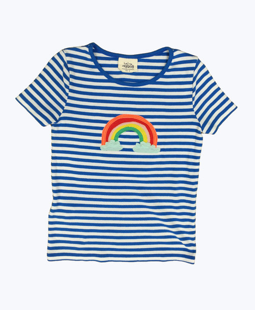 Rainbow Applique Tee, Little Girls