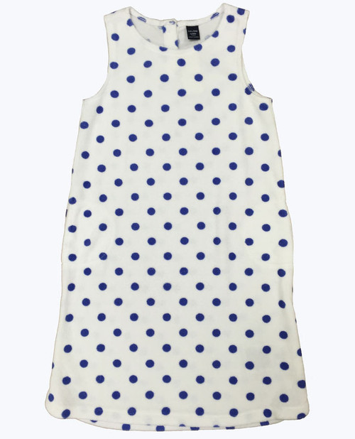 Polka Dots Towelling Dress