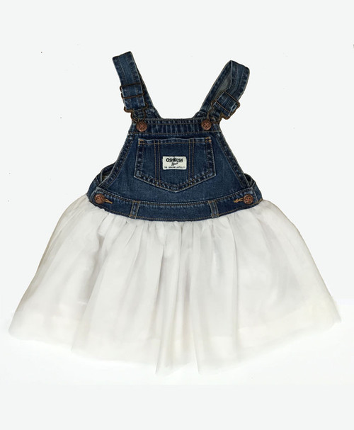 SOLD - Denim & Tulle Tutu Jumper