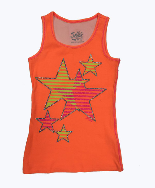 Glitter Stars Tank Top