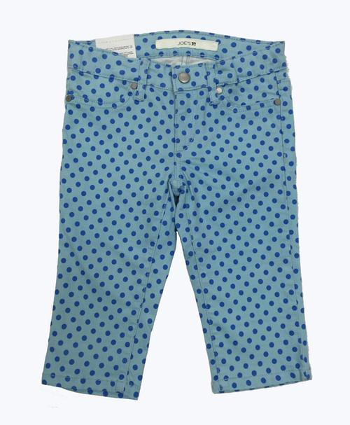 Blue Polka Dots Capris