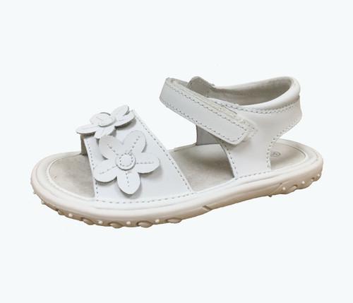 White Flower Trio Sandals