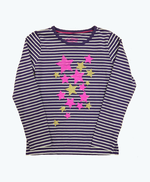 Stripes & Stars Tee, Little Girls