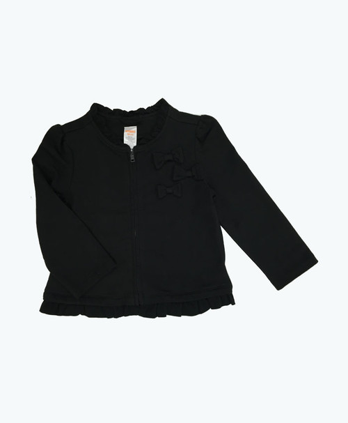 SOLD - Black Ruffle Jacket