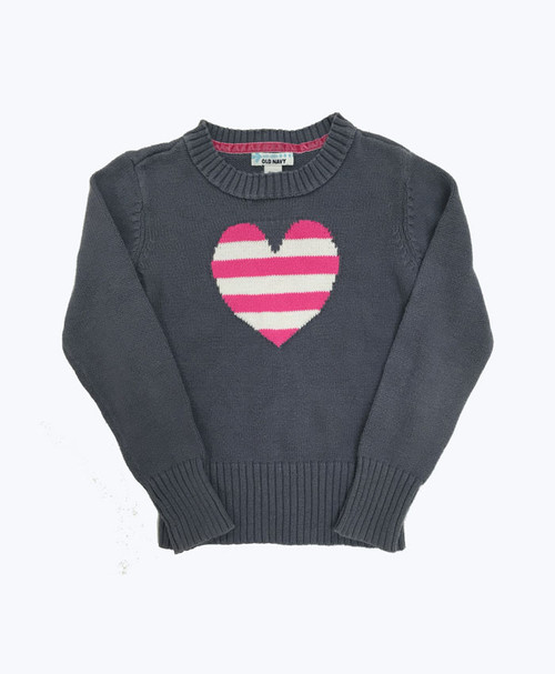 Heart Crew Neck Sweater
