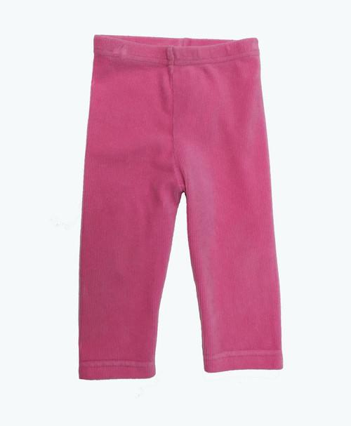 SOLD - Pink Corduroy Leggings
