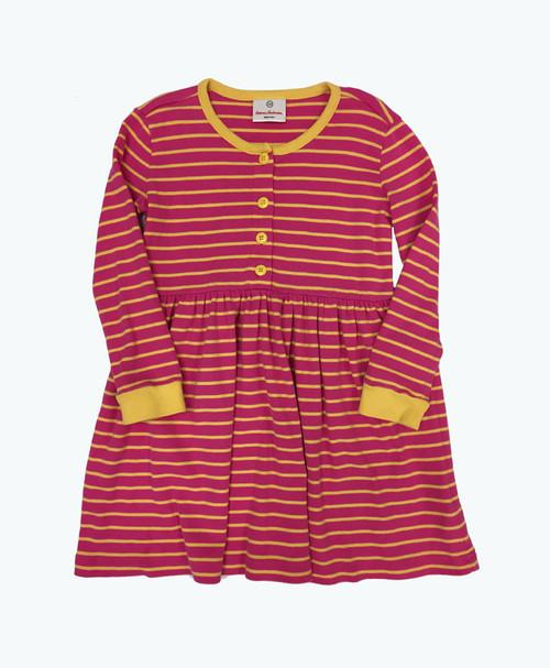 SOLD - Stripes Long Sleeve Dress