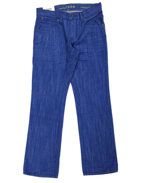 Boys Colored Straight Jeans