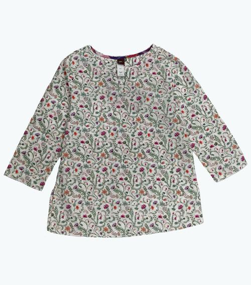 SOLD - 'Calico Jungle' Cotton Tunic