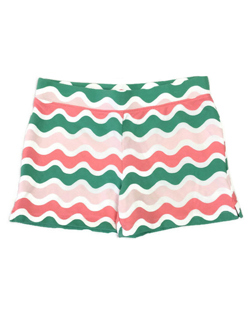 Wave Pull-On Shorts, Big Girls