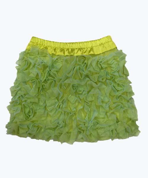 SOLD -  Tulle Ruffle Skirt