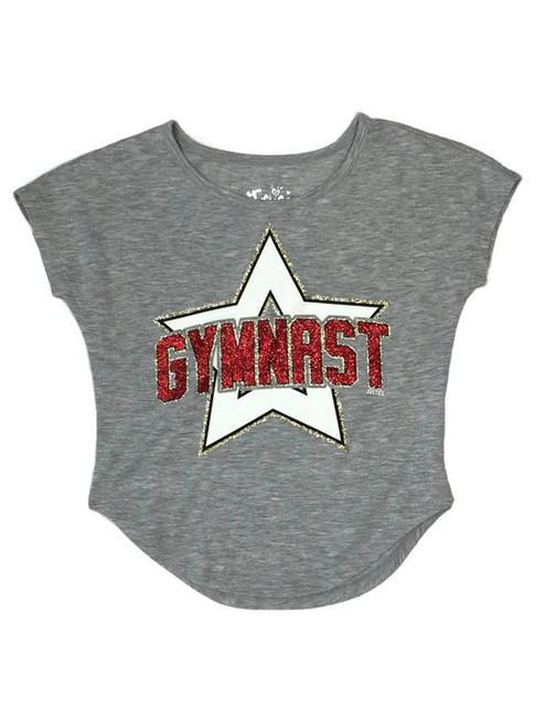 Glitter Gymnast Top, Little Girls