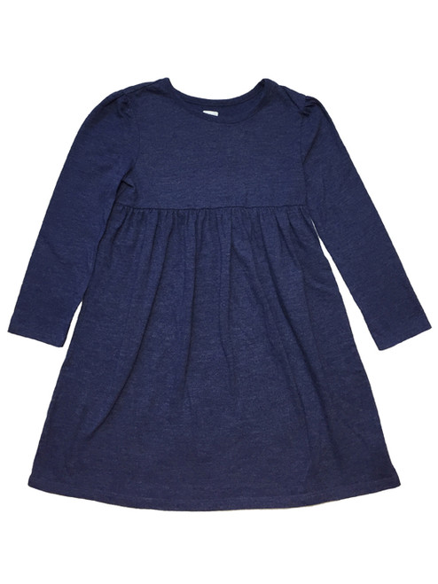Heather Blue Dress, Toddler Girls