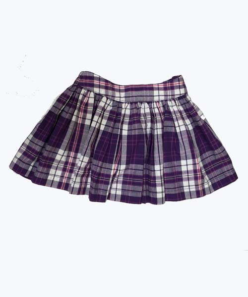 SOLD - Purple Plaid Skort