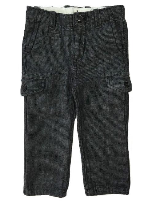 Gray Tweed Cargo Pants, Toddler Boys