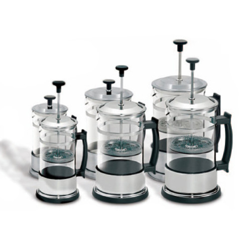 The tea press is the most convenient fun way to brew up your loose leaf teas. Add a touch of class to the countertop with these attractive designs. Choose your size, 2-cup, 4-cup, or the giant 6-cup for the real tea fanatic!