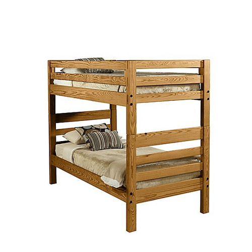 Cargo Brand Furniture: Classic Solid End Bunk Bed