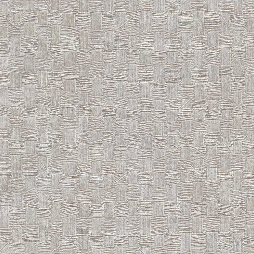 Woven basket wallpaper metallic silver gray