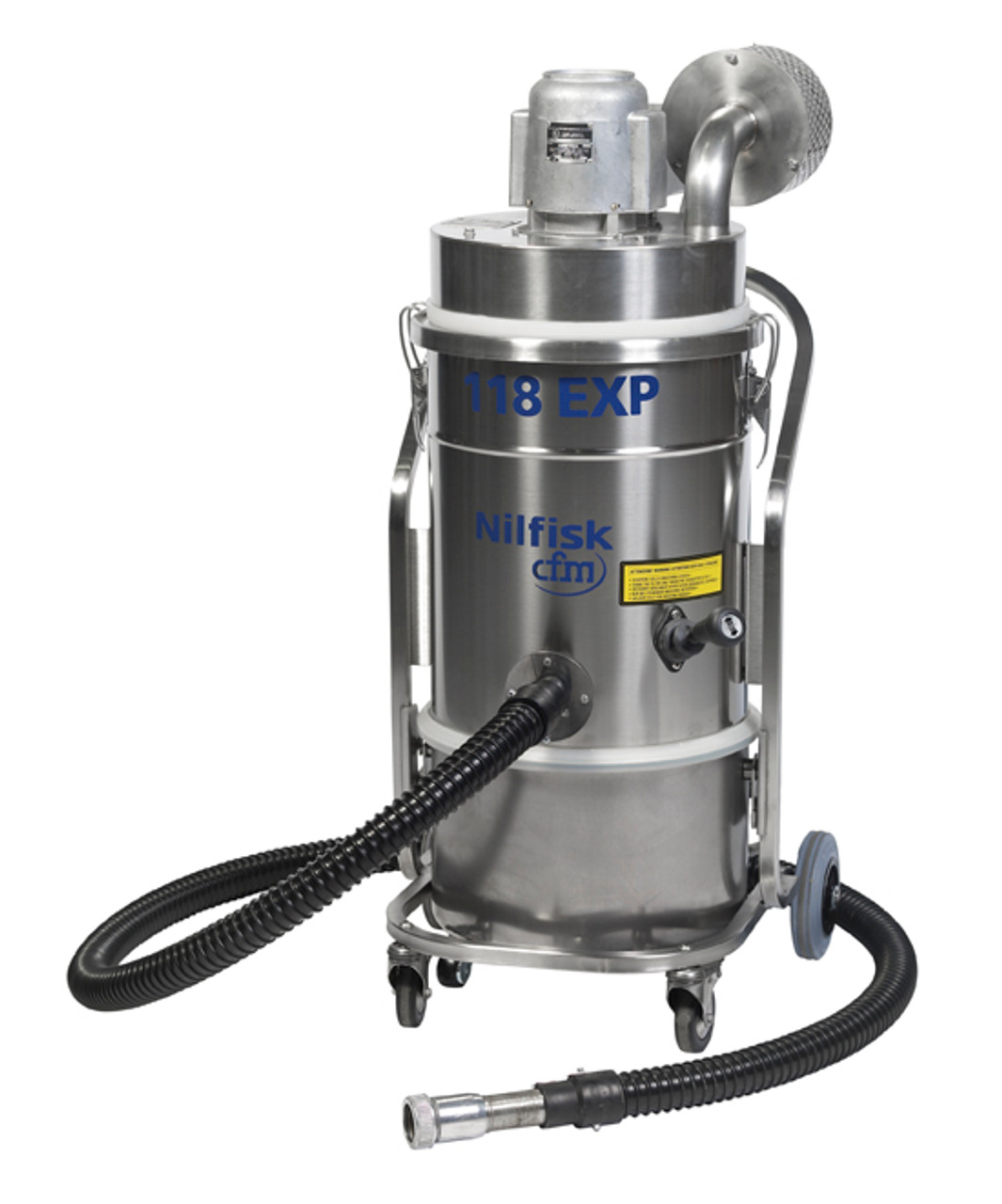 Good Nilfisk 118EXP With Hose Attached. (Dry Version)