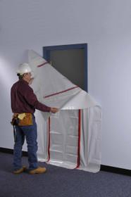 Zipwall Zipdoor For Commercial Doorways Zdc First