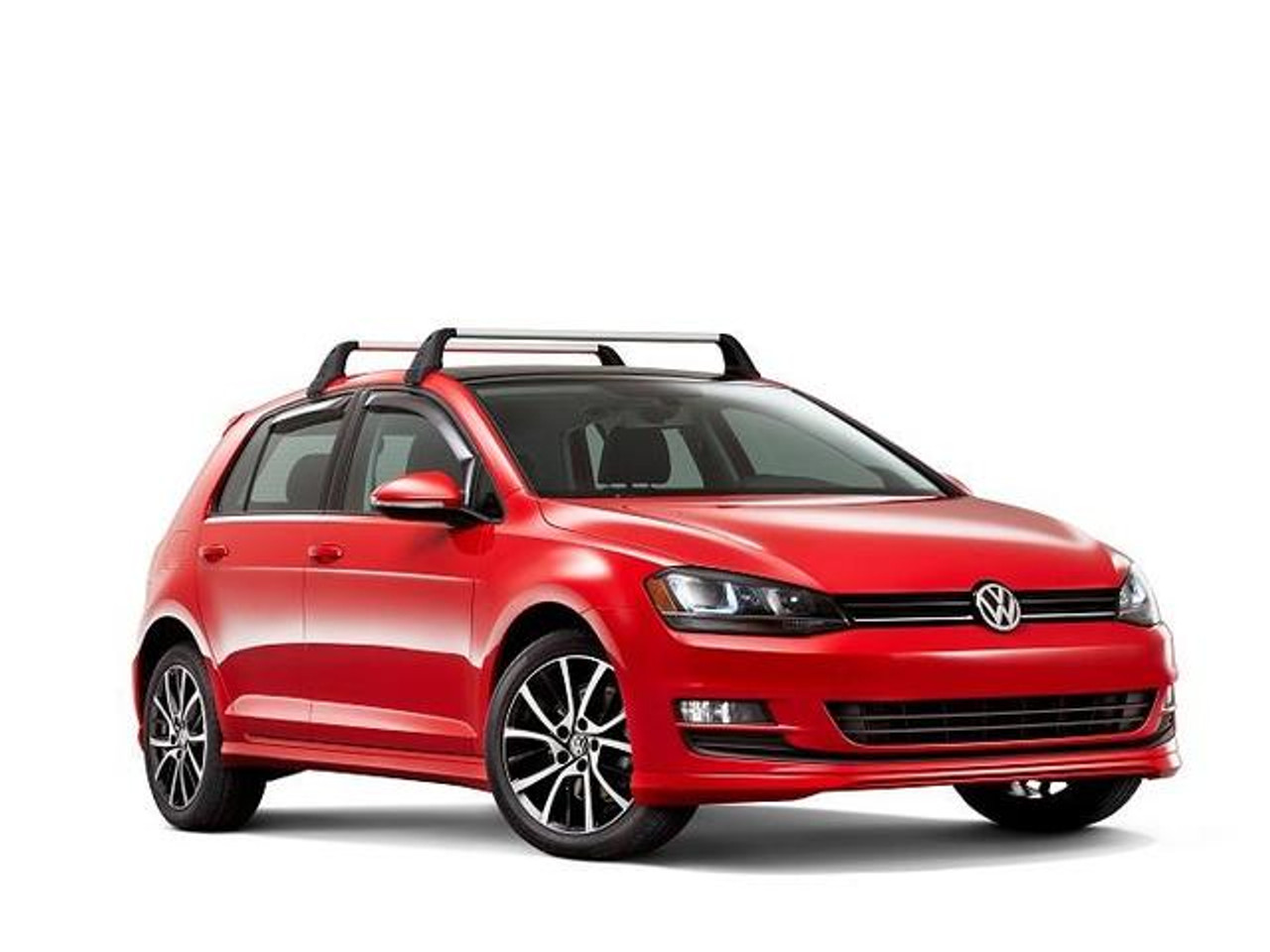 VW Golf Roof Rack Bars