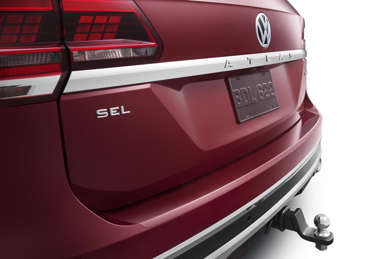 Volkswagen Atlas Rear Bumper Protector Film
