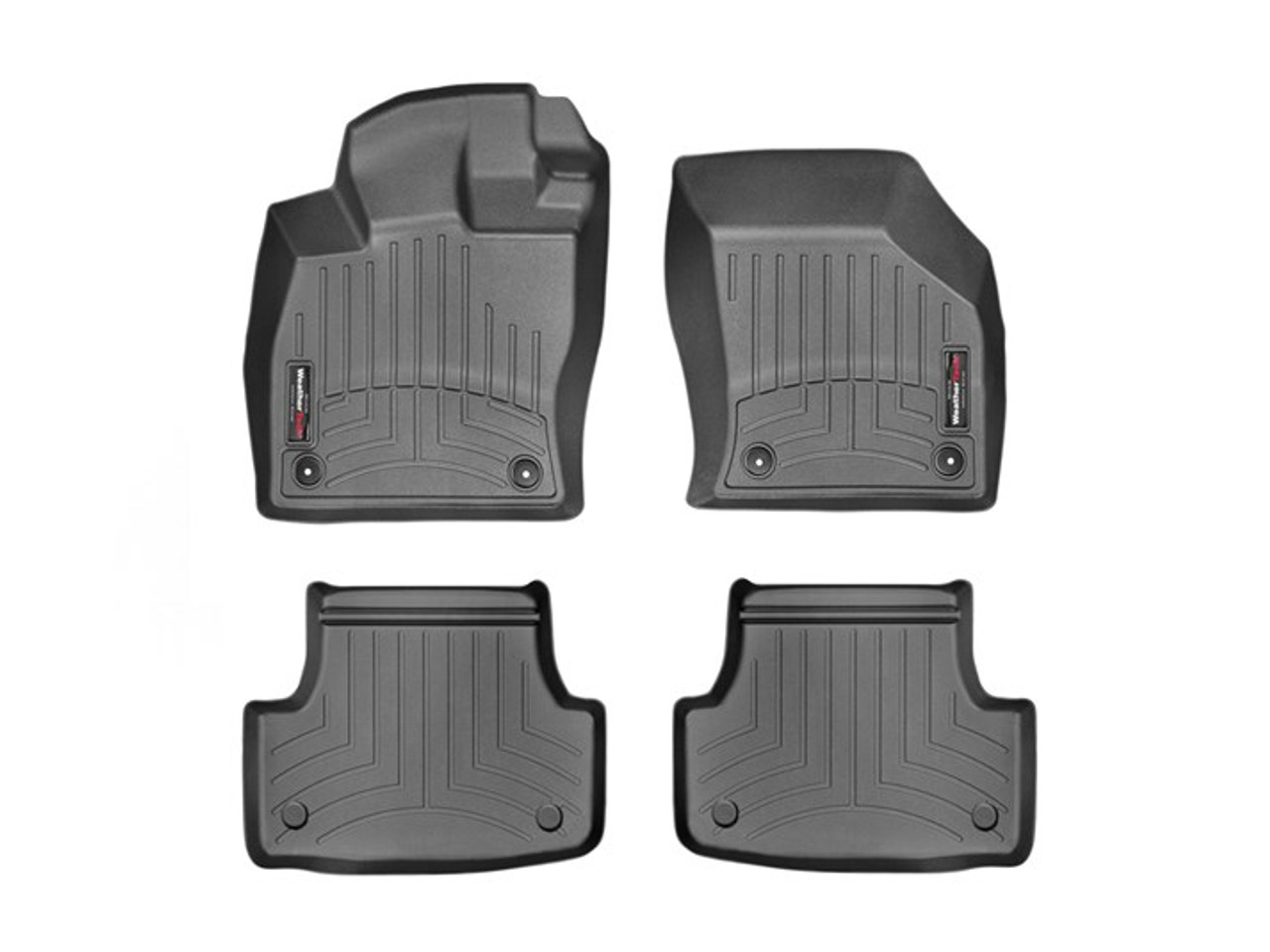 VW GTI WeatherTech FloorLiners - Black