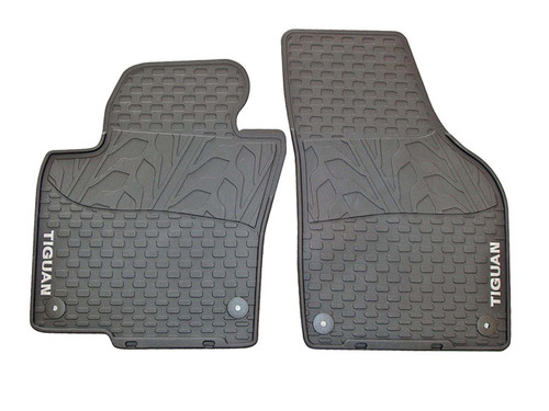 VW Tiguan Rubber Floor Mats